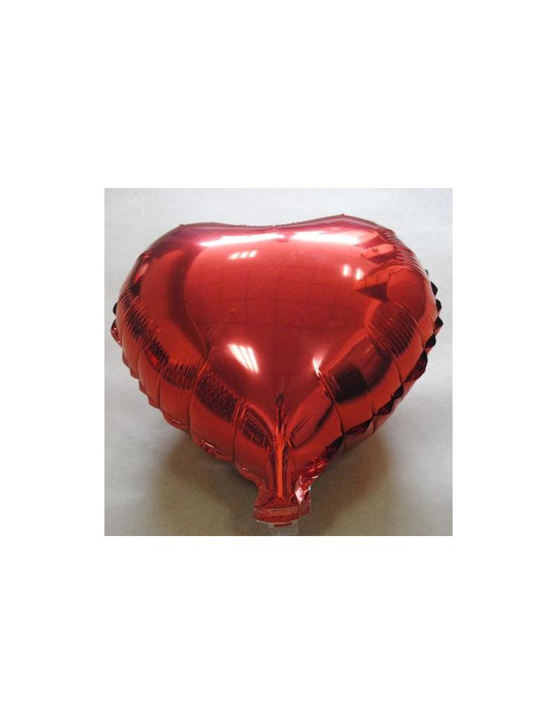 Palloncino Mylar Cuore - Ø 85 cm - Rosso