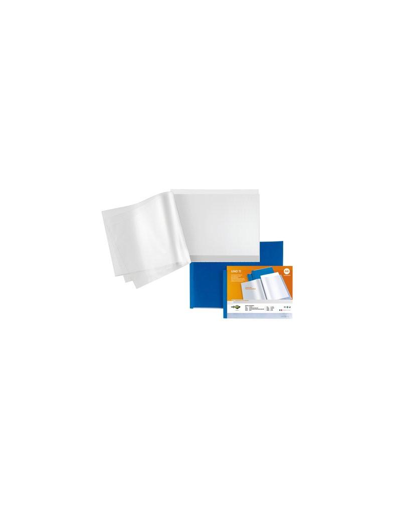 Portalistino Personalizzabile Uno TI ad Album Sei Rota - 42x30 cm - 24 Buste - 55422407 (Blu)