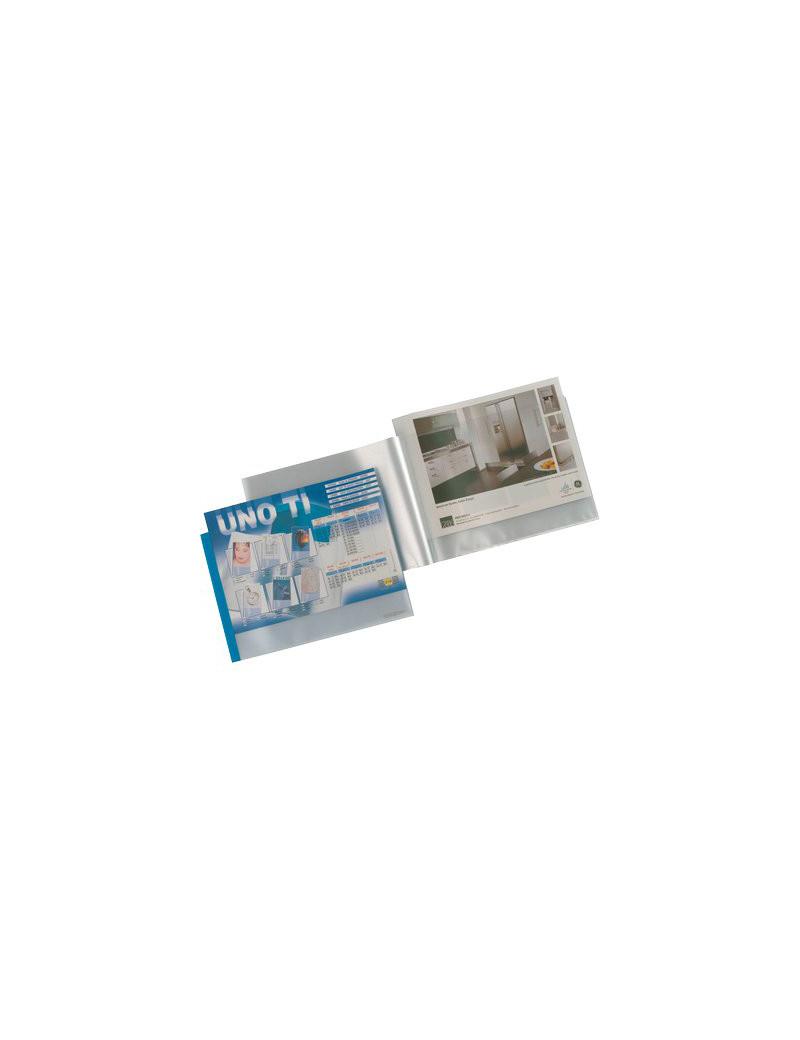 Portalistino Personalizzabile Uno TI ad Album Sei Rota - 42x30 cm - 36 Buste - 55423607 (Blu)