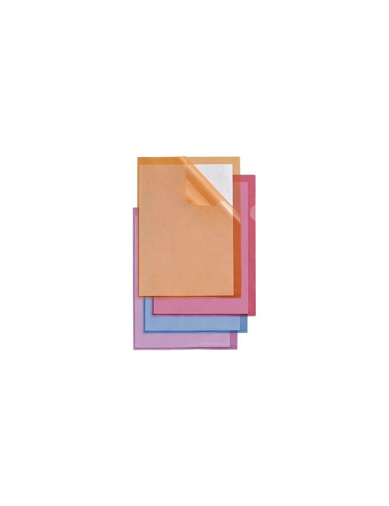 Busta a L Capri 61 Sei Rota - A4 - PVC (Trasparente Conf. 25)