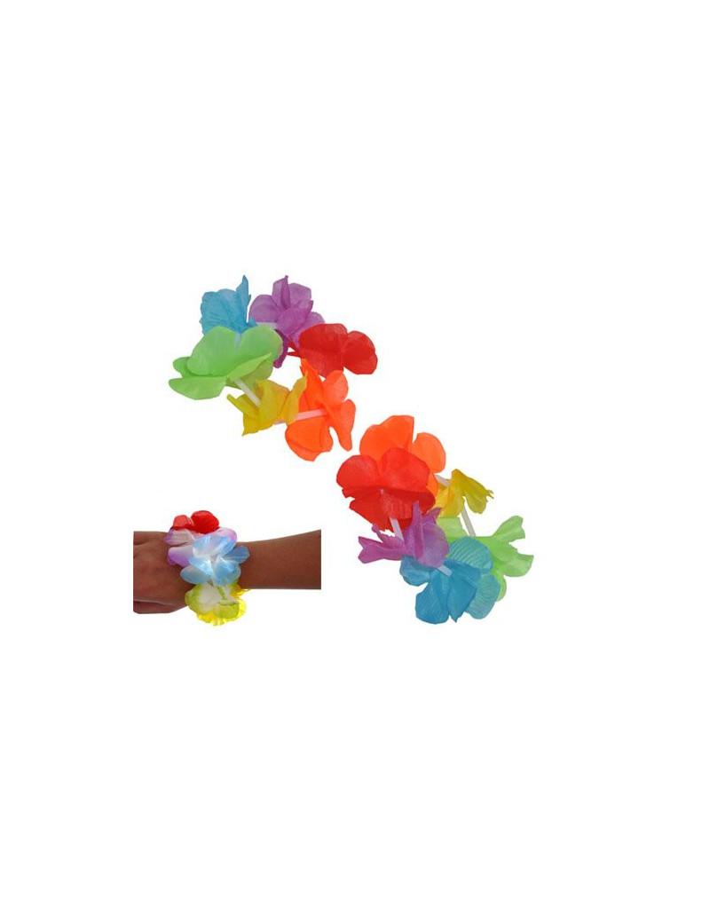 Braccialetti Hawaiani Multicolor (Conf. 2)