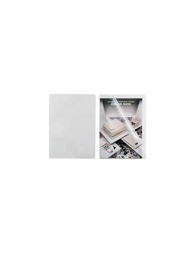 Busta a L Pratic Favorit - 22x30 cm - Superior Goffrata - 100460050 (Trasparente Conf. 50)