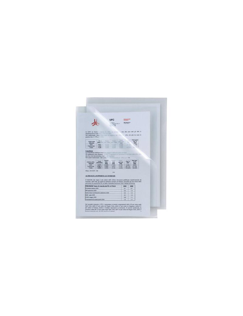 Cartellina a L Poli 150 Sei Rota - A4 - Alto Spessore - 662300 (Trasparente Conf. 25)