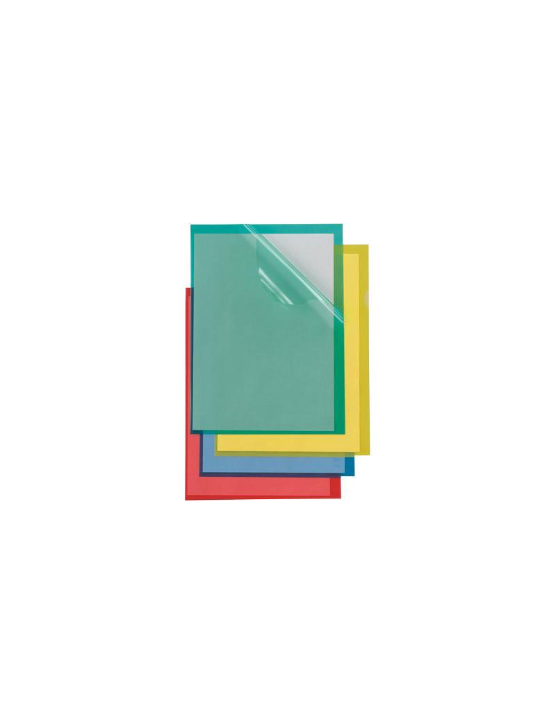 Cartellina a L Poli Colorato Sei Rota - A4 - PPL - 66232205 (Verde Conf. 25)