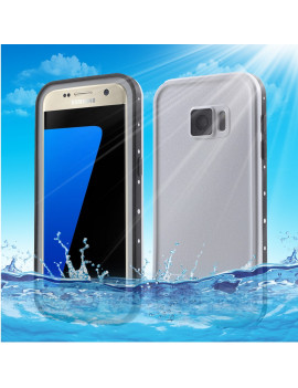 Cover RedPepper Impermeabile Waterproof Anti Urto Anti-Shock per Samsung Galaxy S7 G930 (Bianco)