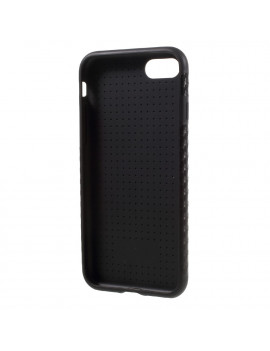 "Cover in Silicone Morbido Carbon Look per iPhone 7 4,7"" (Nero)"