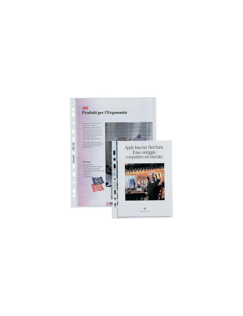 Buste a Foratura Universale Air-Special Favorit - 21x29,7 cm - Goffrata Alto Spessore (Trasparente Conf. 50)