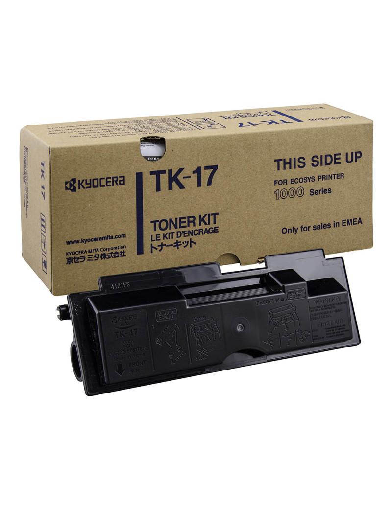 Toner Originale Kyocera Mita TK-17 1T02BX0EU0 (Nero 6000 pagine)