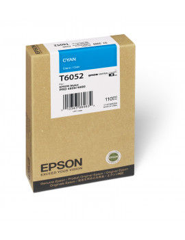 Cartuccia Originale Epson T605200 (Ciano 110 ml)