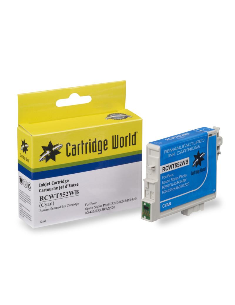 Cartuccia Compatibile Epson T055240 (Ciano)