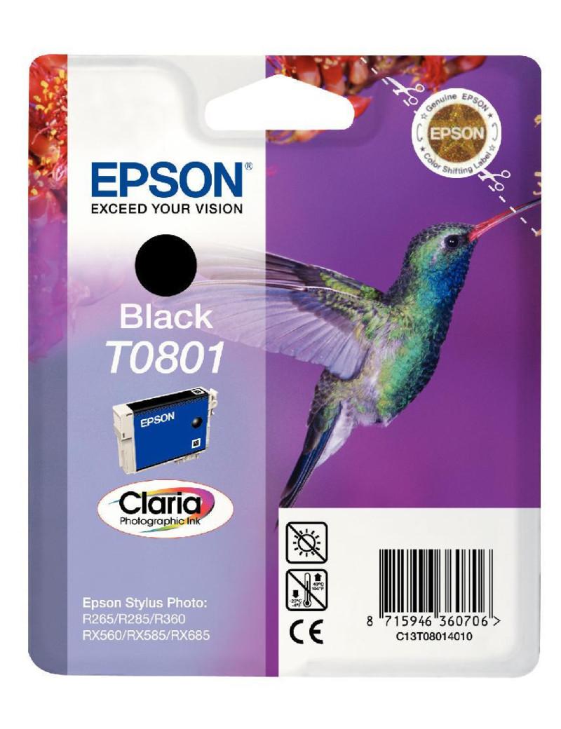 Cartuccia Originale Epson T080140 (Nero)