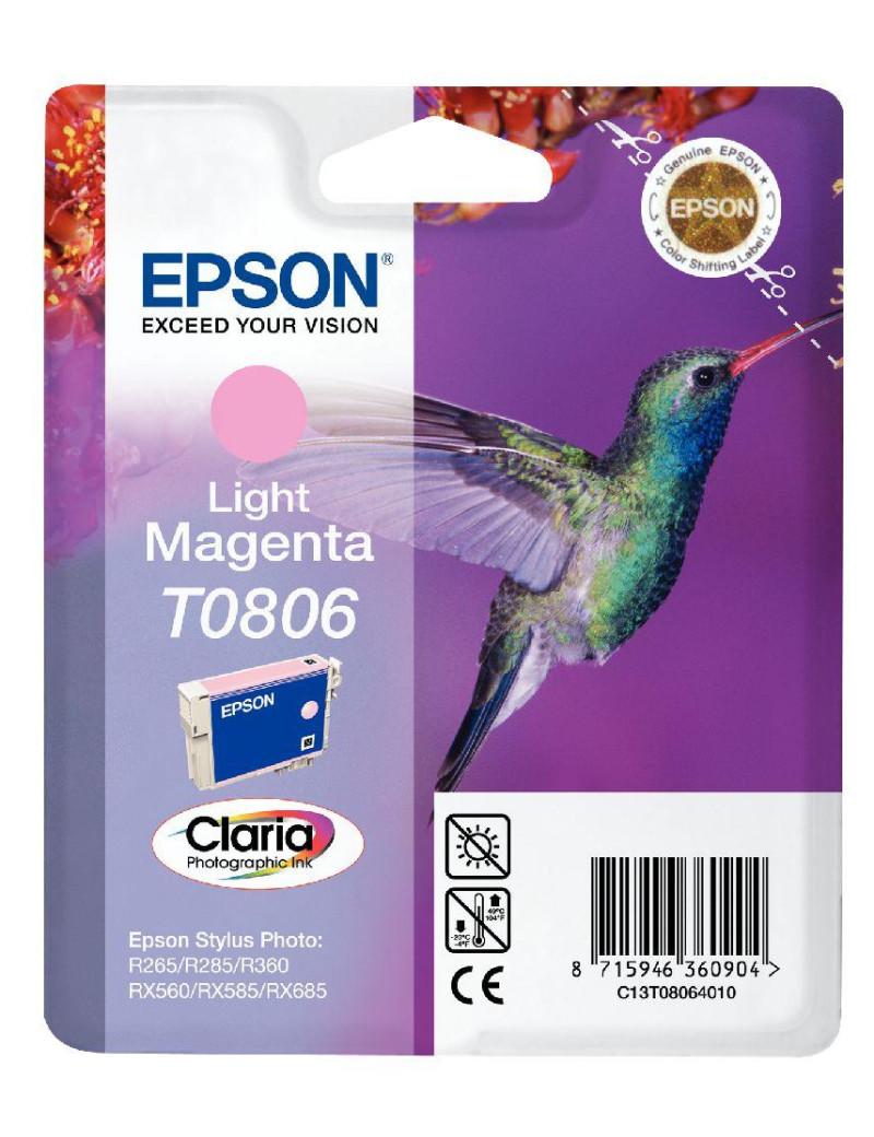 Cartuccia Originale Epson T080640 (Magenta Chiaro)