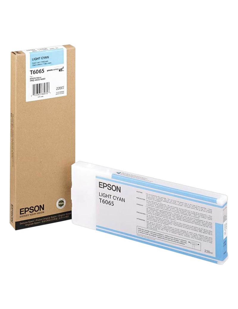 Cartuccia Originale Epson T606500 (Ciano Chiaro 220 ml)