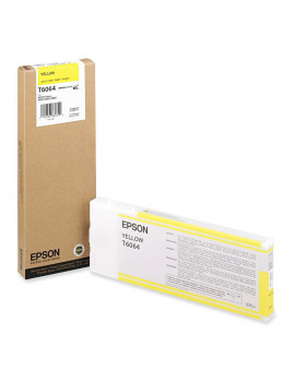 Cartuccia Originale Epson T606400 (Giallo 220 ml)