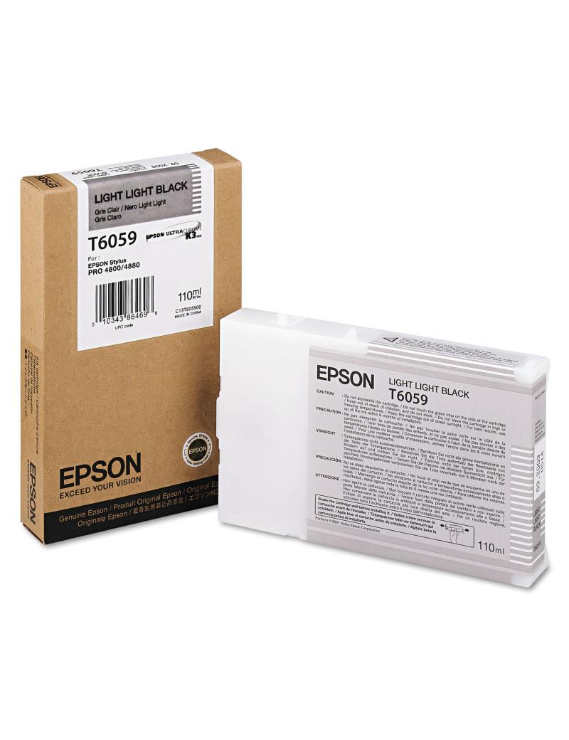 Cartuccia Originale Epson T605900 (Nero Chiaro Chiaro 110 ml)