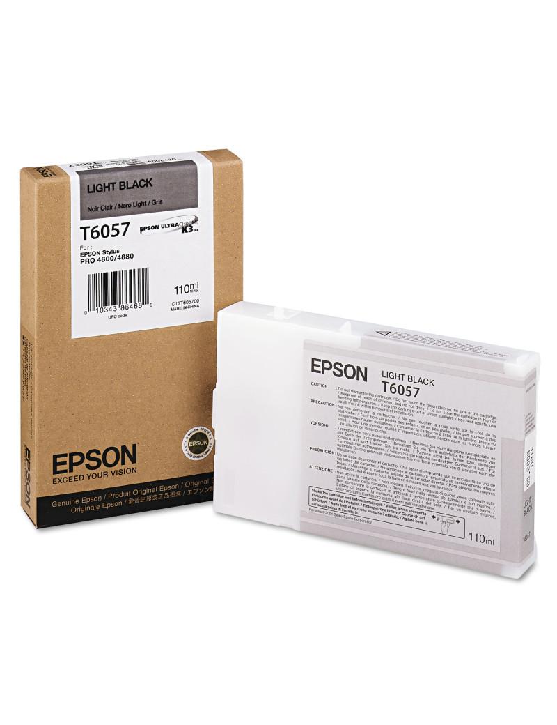 Cartuccia Originale Epson T605700 (Nero Chiaro 110 ml)
