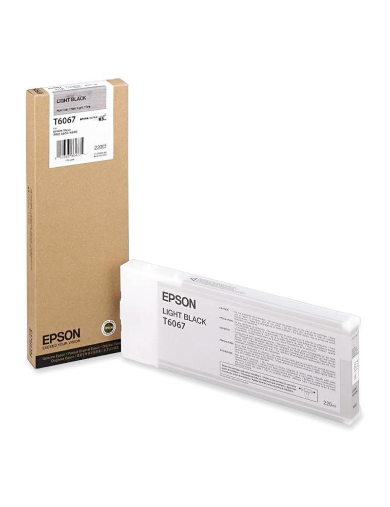 Cartuccia Originale Epson T606700 (Nero Chiaro 220 ml)