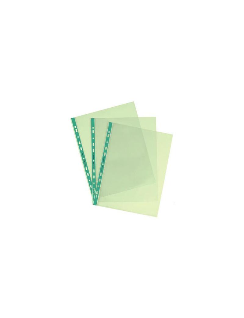Busta a Foratura Universale Favorit Art - 22x30 cm - Liscia Alto Spessore - 22x30 cm - 100206800 (Verde Conf. 25)