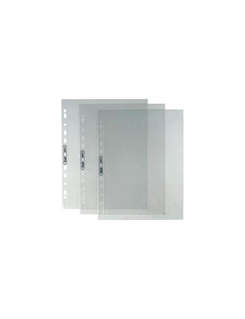 Busta a Foratura Universale L'Originale Favorit - 22x30 cm - Liscia Alto Spessore - 22x30 cm - 100460118 (Trasparente Conf. 25)
