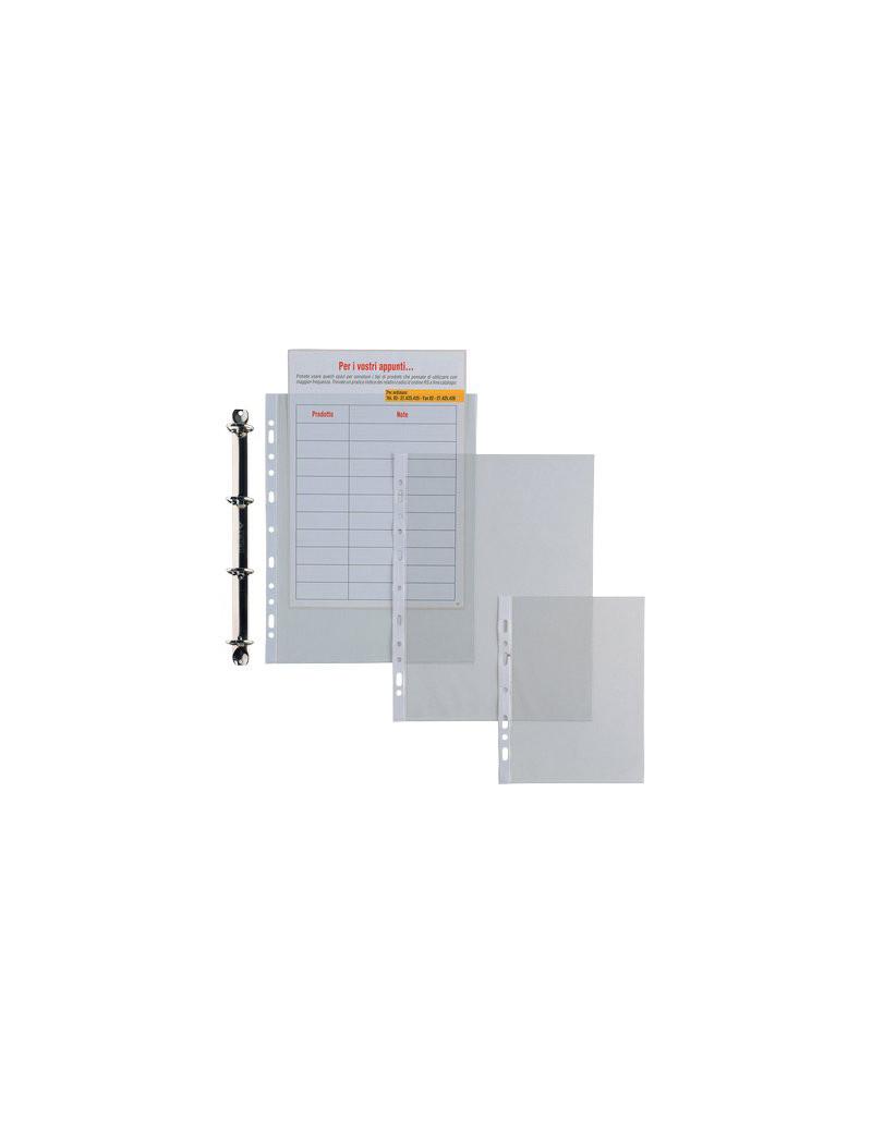 Buste Ercole Sei Rota - 15x21 cm - Liscia Spessore 11/100 mm - 501521 (Trasparente Conf. 25)