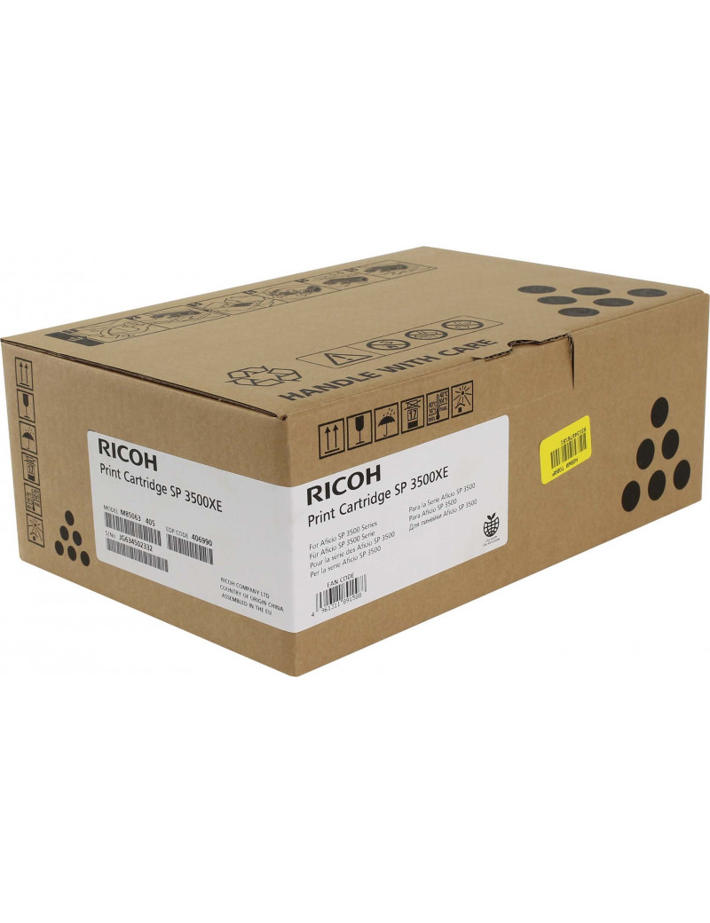 Toner Originale Ricoh SP 3500XE 406990 (Nero 6400 pagine)