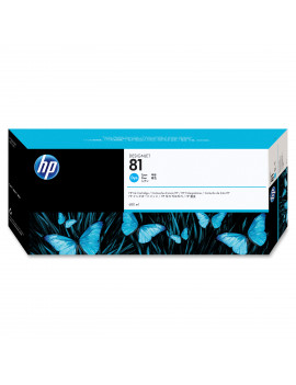 Cartuccia Originale HP C4931A 81 (Ciano 680 ml)