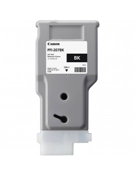 Cartuccia Originale Canon PFI-207bk 8789B001 (Nero 300 ml)