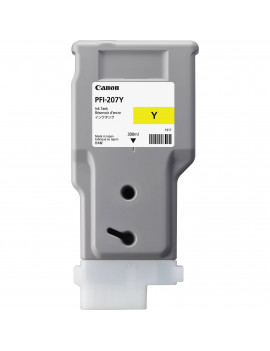 Cartuccia Originale Canon PFI-207y 8792B001 (Giallo 300 ml)