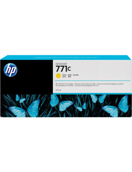 Cartuccia Originale HP B6Y10A 771C (Giallo 775 ml)