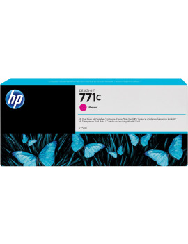 Cartuccia Originale HP B6Y09A 771C (Magenta 775 ml)
