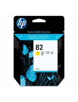 Cartuccia Originale HP C4913A 82 (Giallo 69 ml)