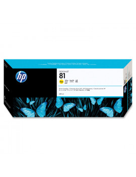 Cartuccia Originale HP C4933A 81 (Giallo 680 ml)