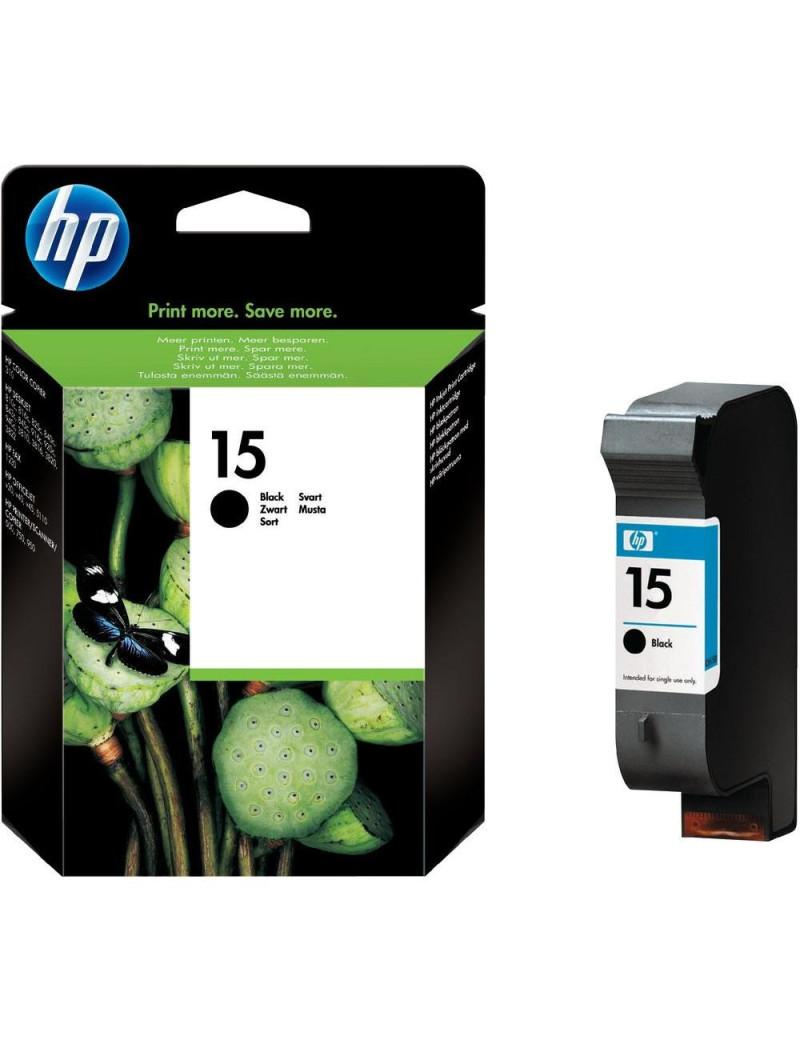 Cartuccia Originale HP C6615DE 15 (Nero 500 pagine)