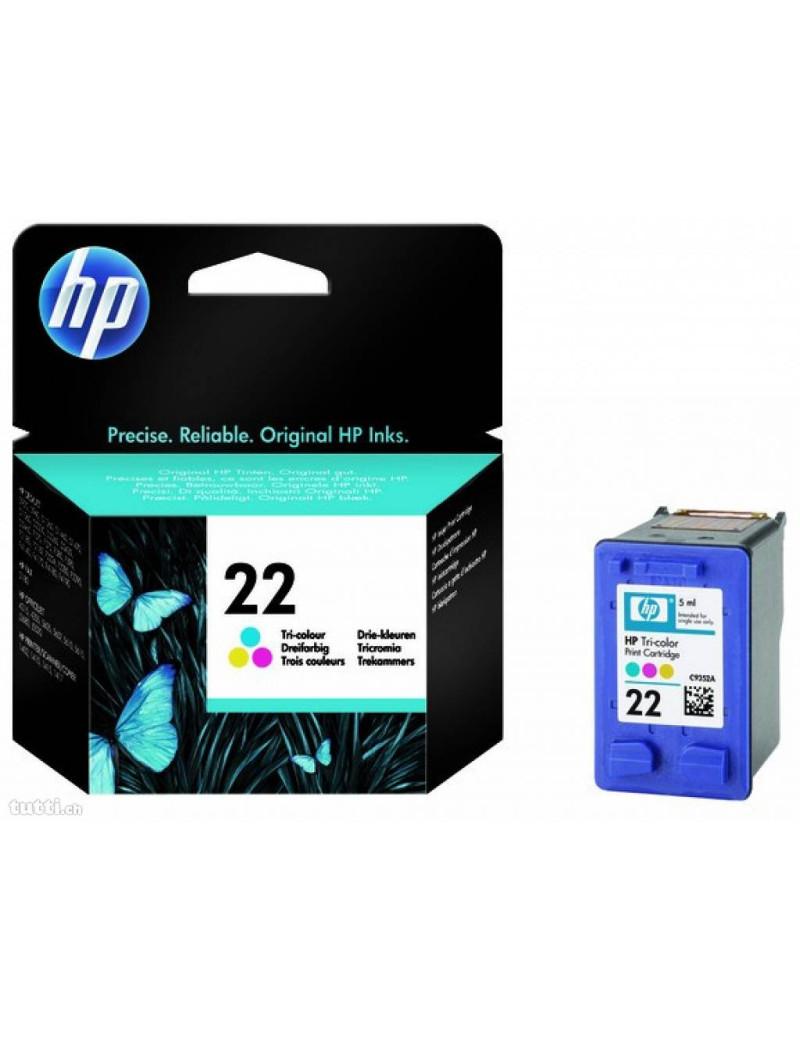 Cartuccia Originale HP C9352AE 22 (Colore 165 pagine)