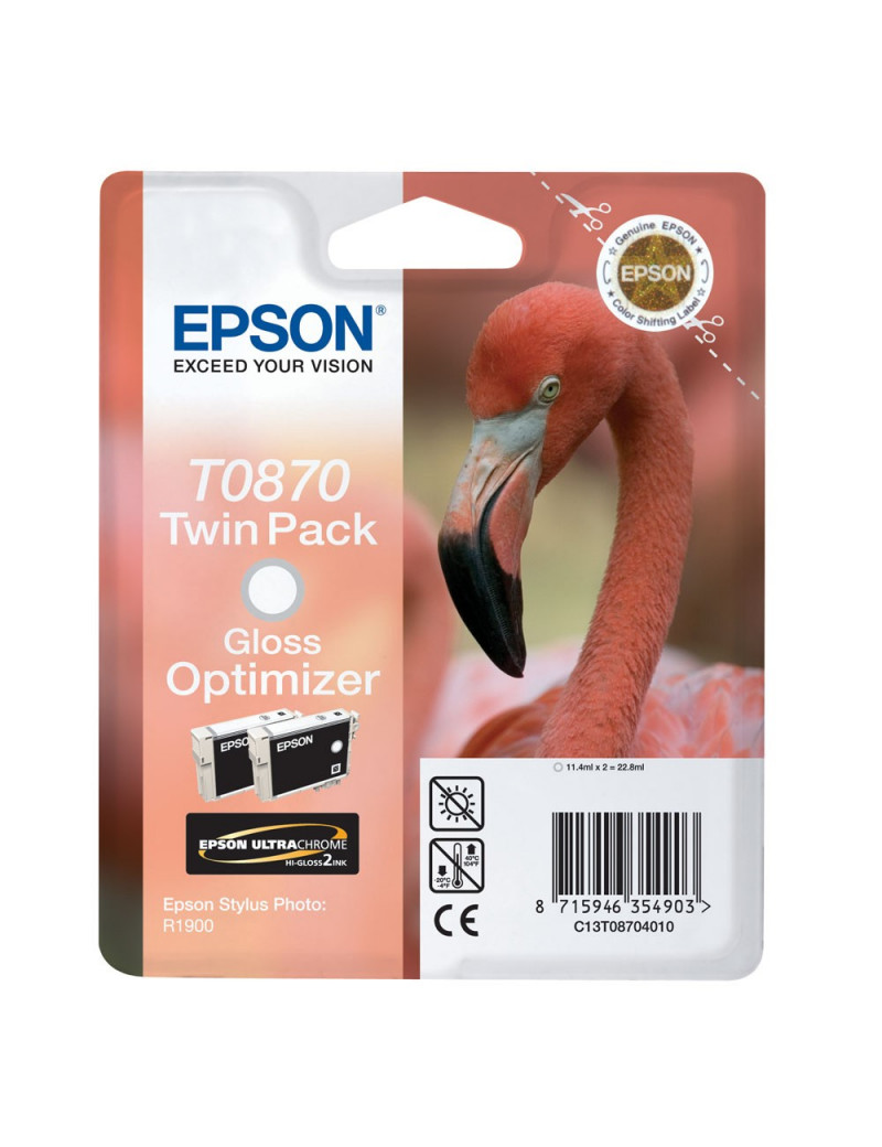 Cartuccia Originale Epson T087040 (Gloss Optimizer Conf. 2)