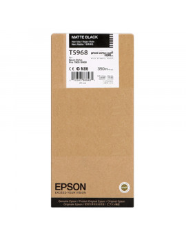 Cartuccia Originale Epson T596800 (Nero Opaco 350 ml)