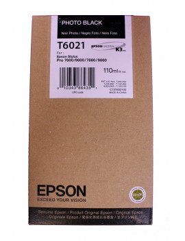 Cartuccia Originale Epson T602100 (Nero Foto 110 ml)