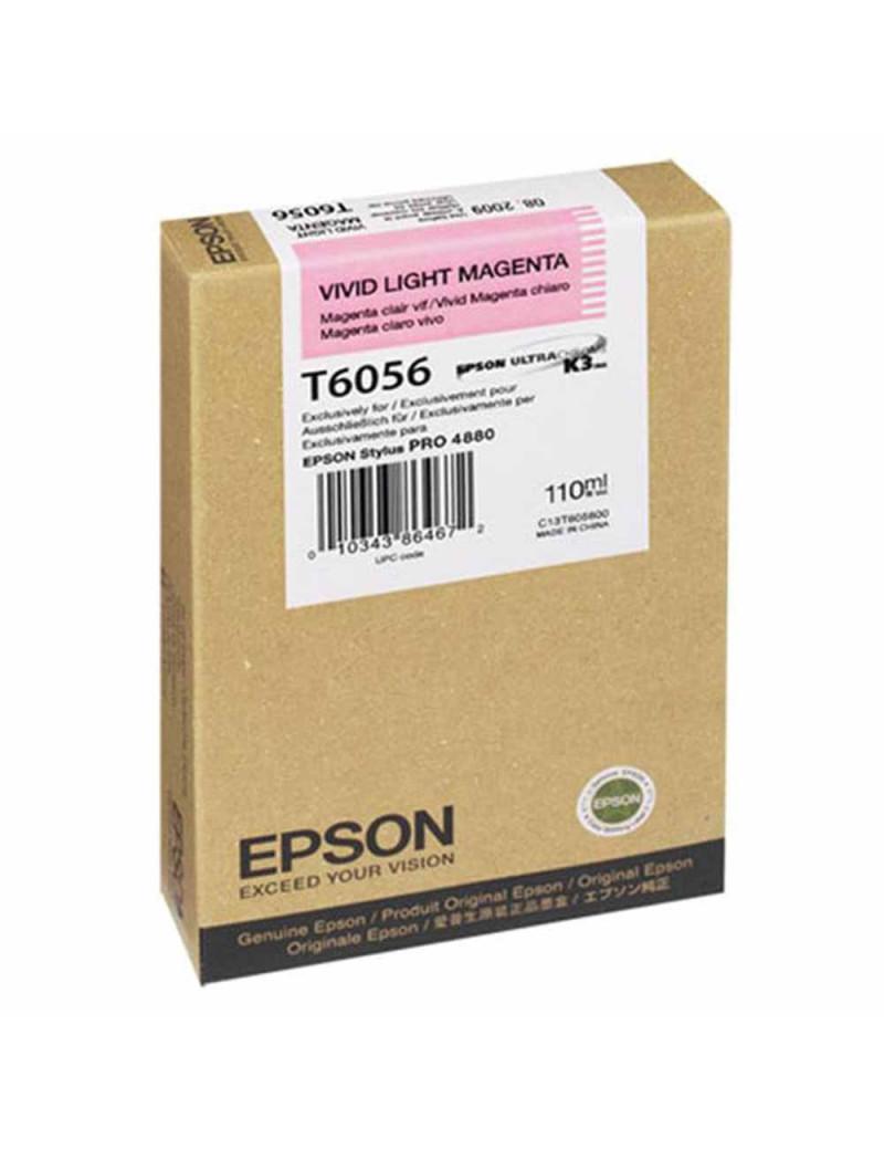 Cartuccia Originale Epson T605600 (Magenta Chiaro 110 ml)