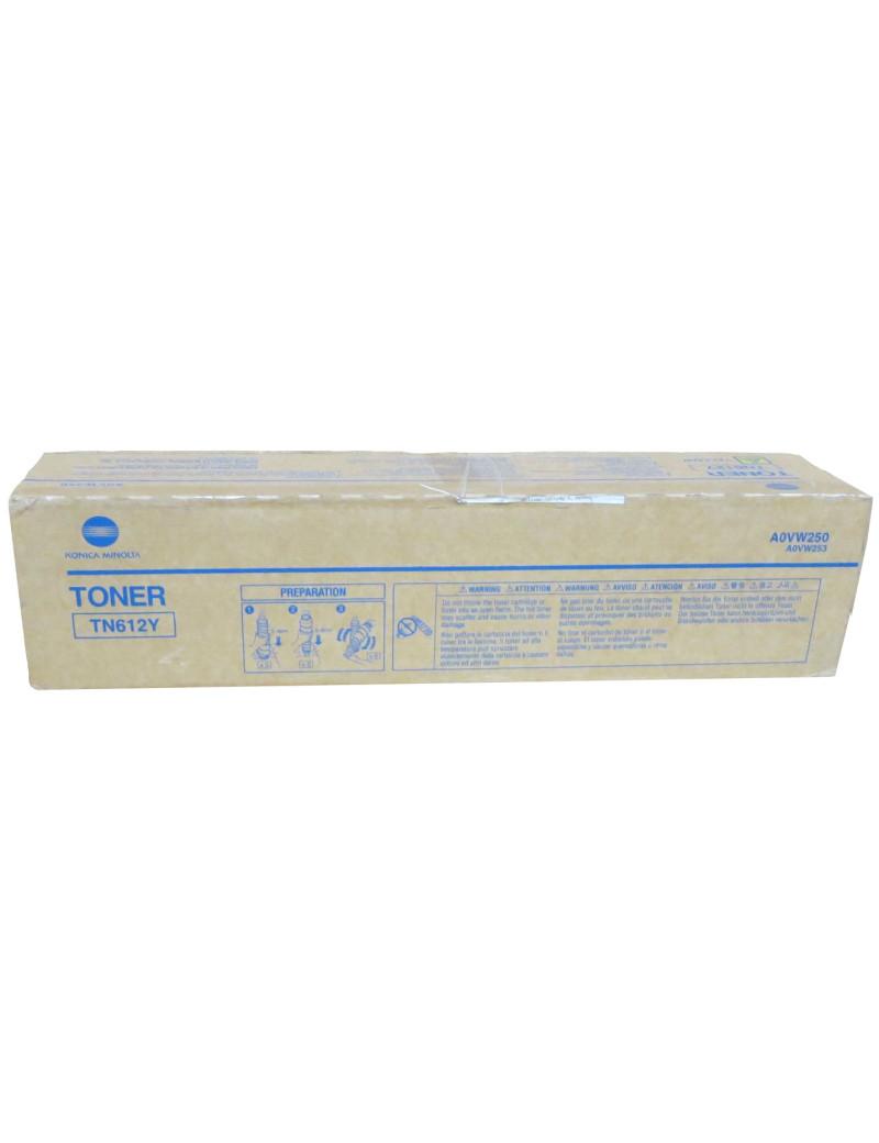 Toner Originale Konica Minolta TN-612Y A0VW250 (Giallo 25000 pagine)