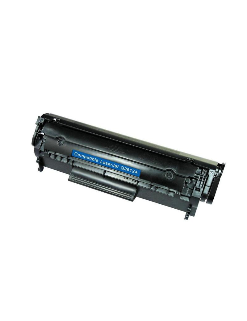 Toner Compatibile HP Q2612A 12A (Nero 2000 pagine)