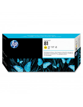 Testina di Stampa Originale HP C4953A 81 (Giallo 13 ml)
