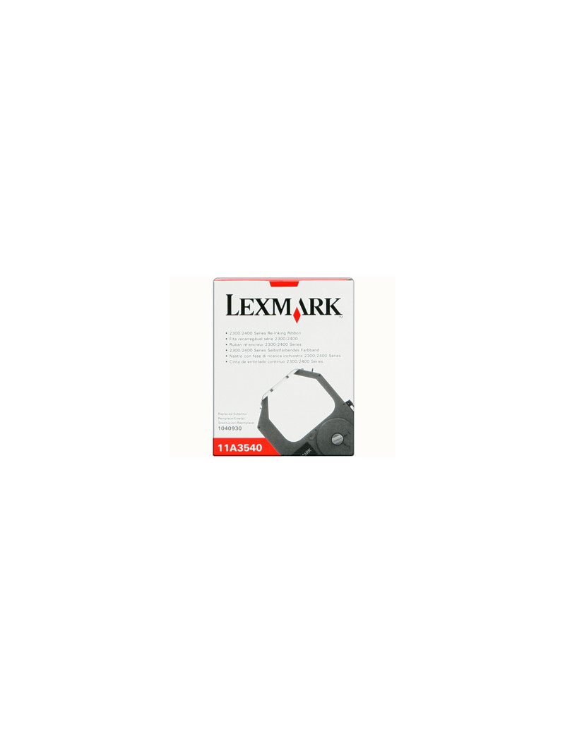 Nastro Originale Lexmark 11A3540 (Nero)