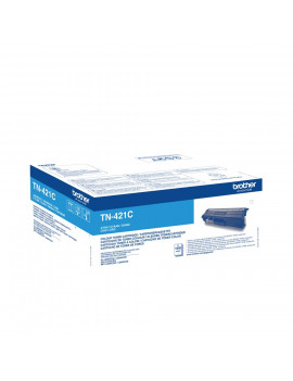 Toner Originale Brother TN-421C (Ciano 1800 pagine)