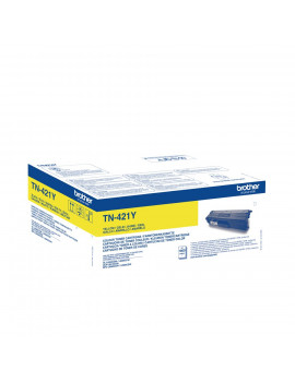 Toner Originale Brother TN-421Y (Giallo 1800 pagine)