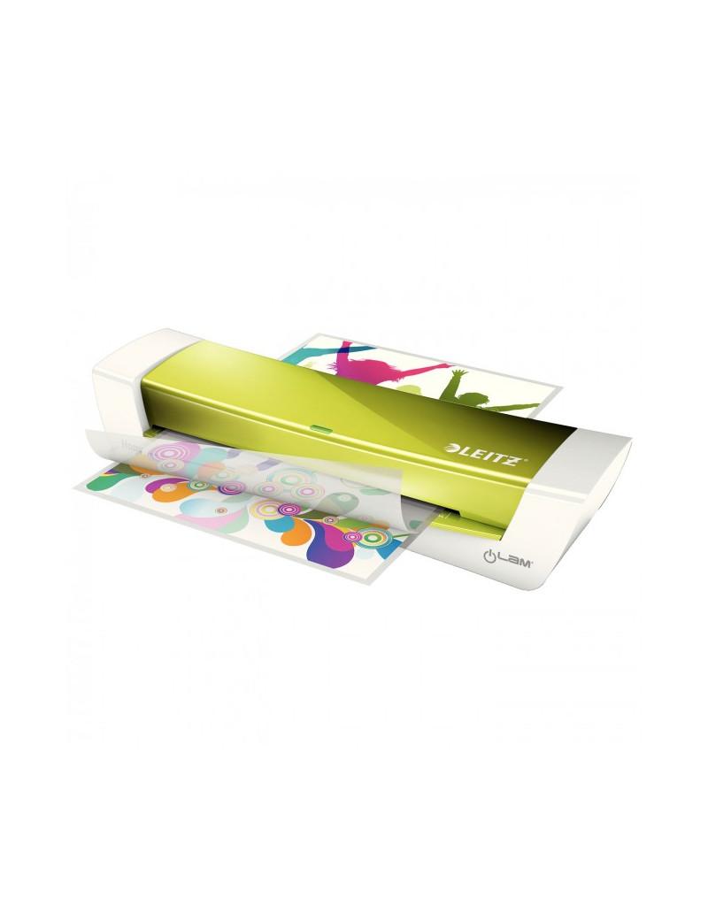 Plastificatrice iLam Home Office Leitz - A4 - 73680064 (Verde Metallizzato)