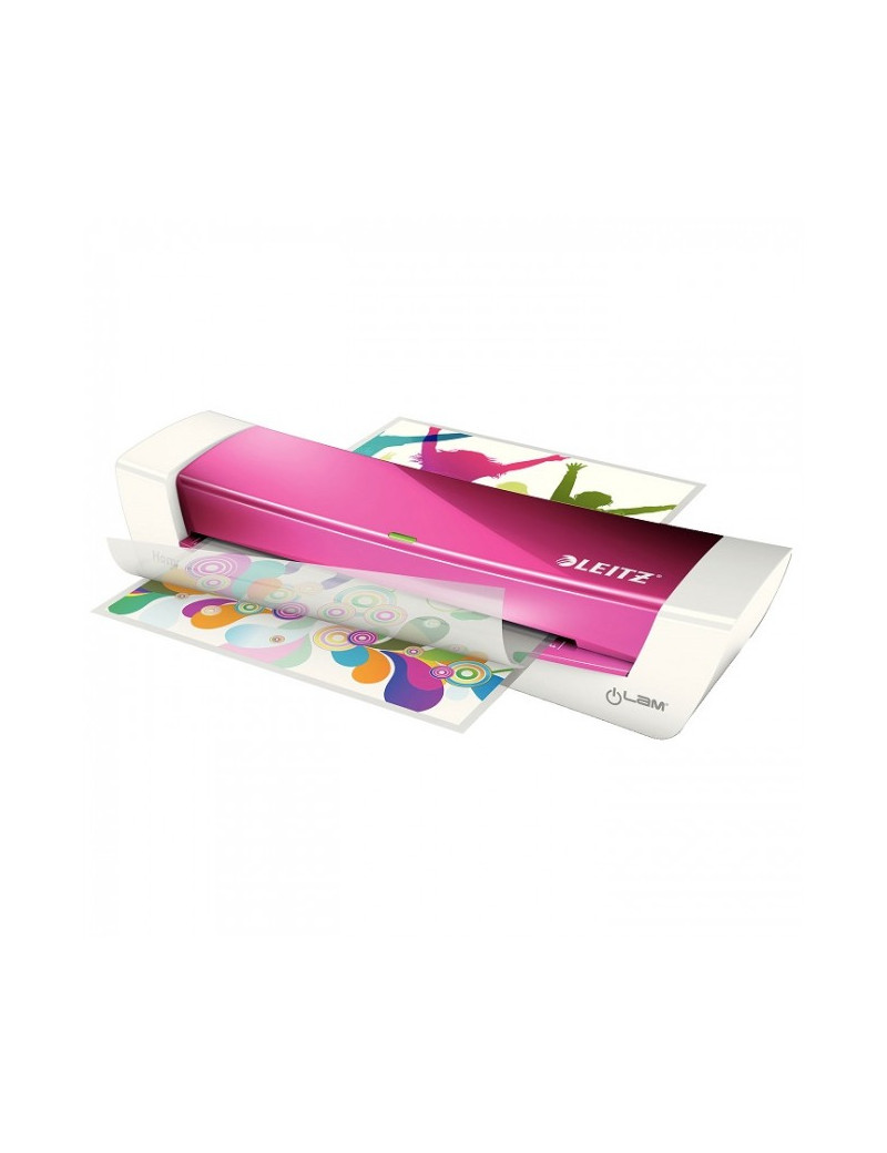 Plastificatrice iLam Home Office Leitz - A4 - 73680023 (Fucsia Metallizzato)