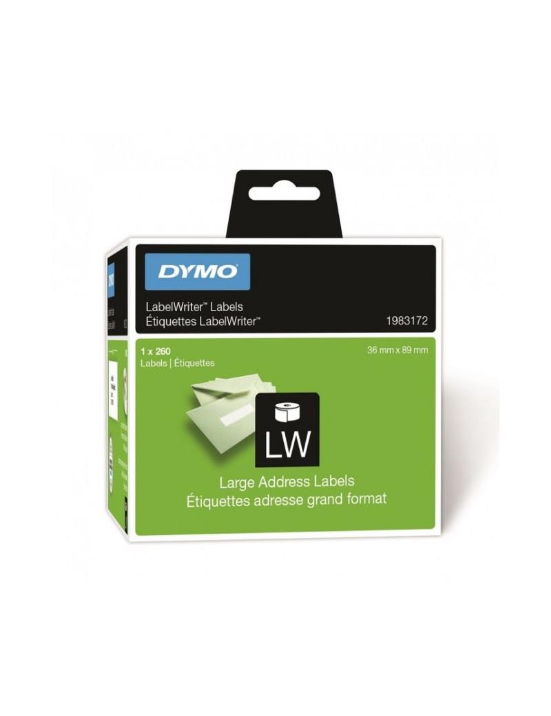 Etichette per Dymo LabelWriter - Permanenti - 36x89 mm - Bianco