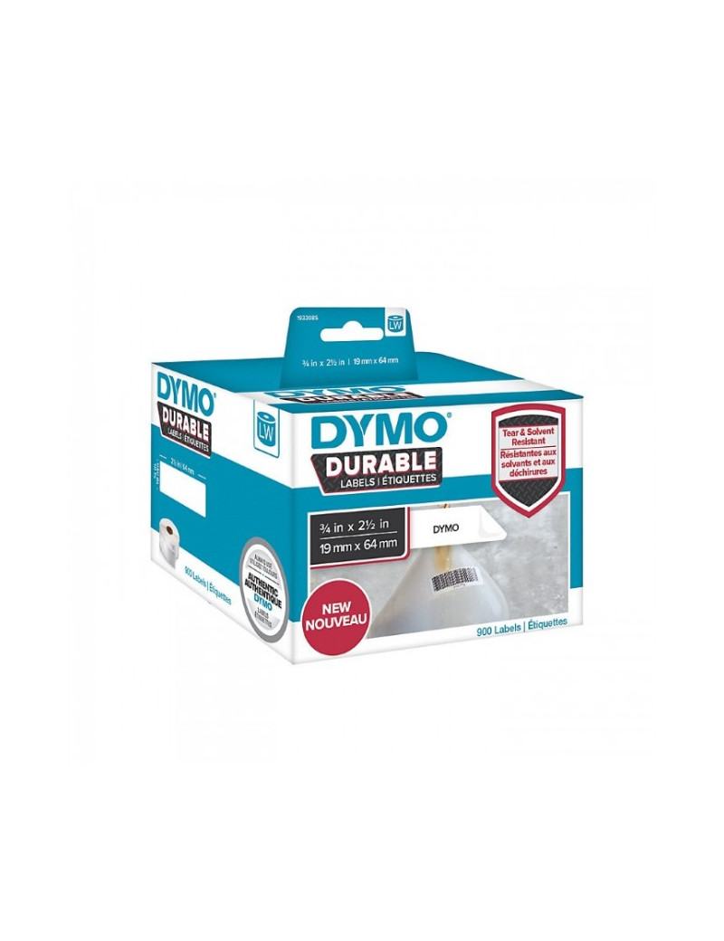 Etichette Dymo Label Writer Durable - 19x64 mm (Conf. 2)