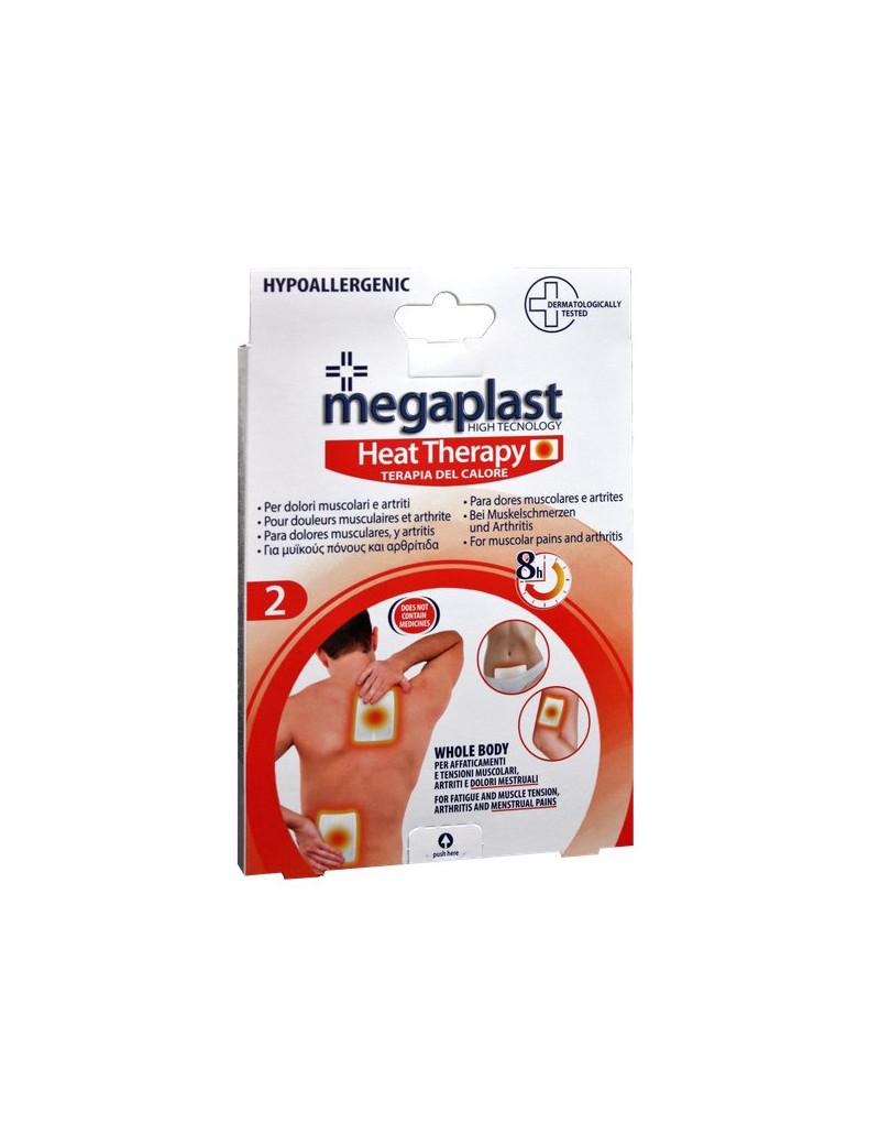 Fascia e Cerotto Riscaldante Megaplast PVS - 10x13 cm (Conf. 2)