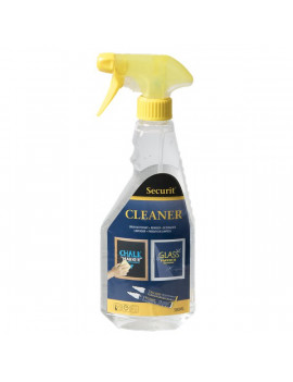 Detegente per Pennarelli a Gesso Liquido Waterproof Securit - 500 ml